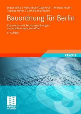 Bauordnung Fur Berlin