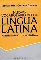 Nuovo vocabolario della lingua latina