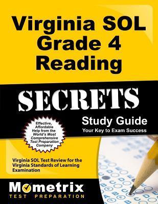 Virginia Sol Grade 4 Reading Secrets