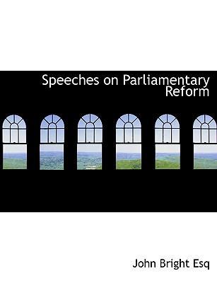 Speeches on Parliame...
