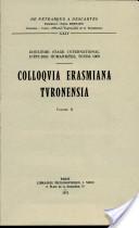 Colloquia Erasmiana Turonensia