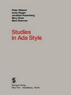 Studies in Ada Style
