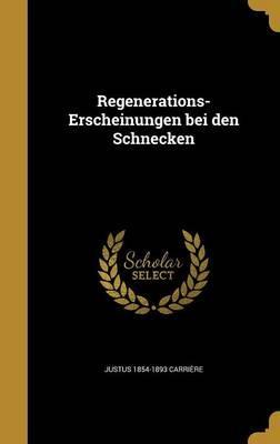 GER-REGENERATIONS-ERSCHEINUNGE