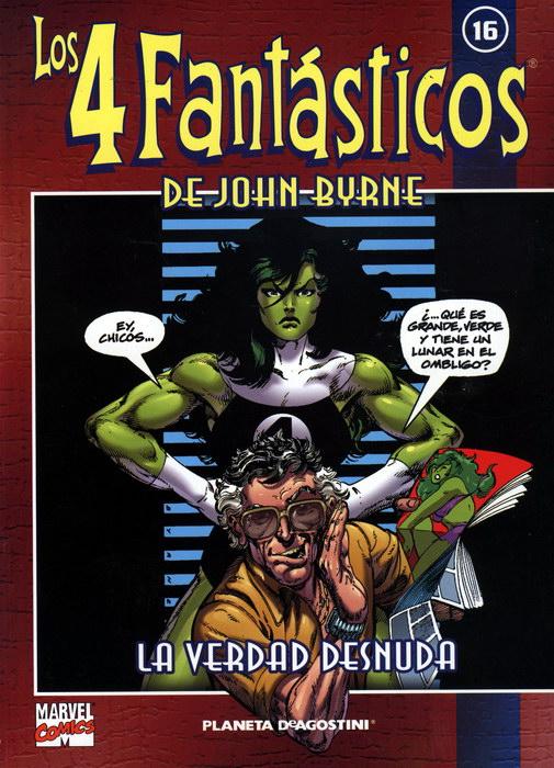 Coleccionable Los 4 Fantásticos de John Byrne #16 (de 25)
