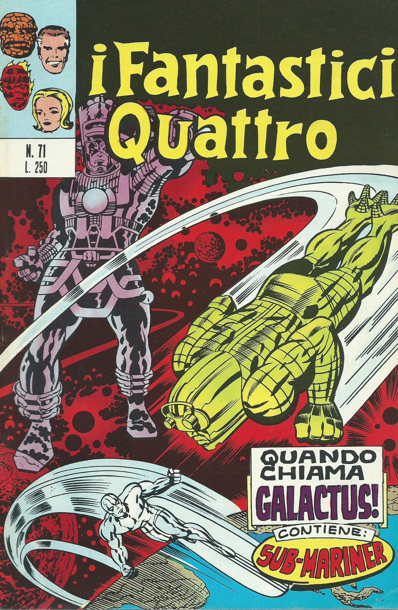 I Fantastici Quattro n. 71