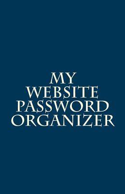 My Website Password Organizer