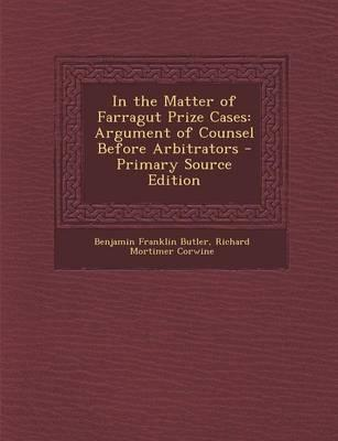 In the Matter of Farragut Prize Cases