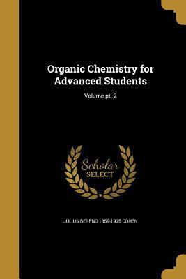 ORGANIC CHEMISTRY FOR ADVD STU