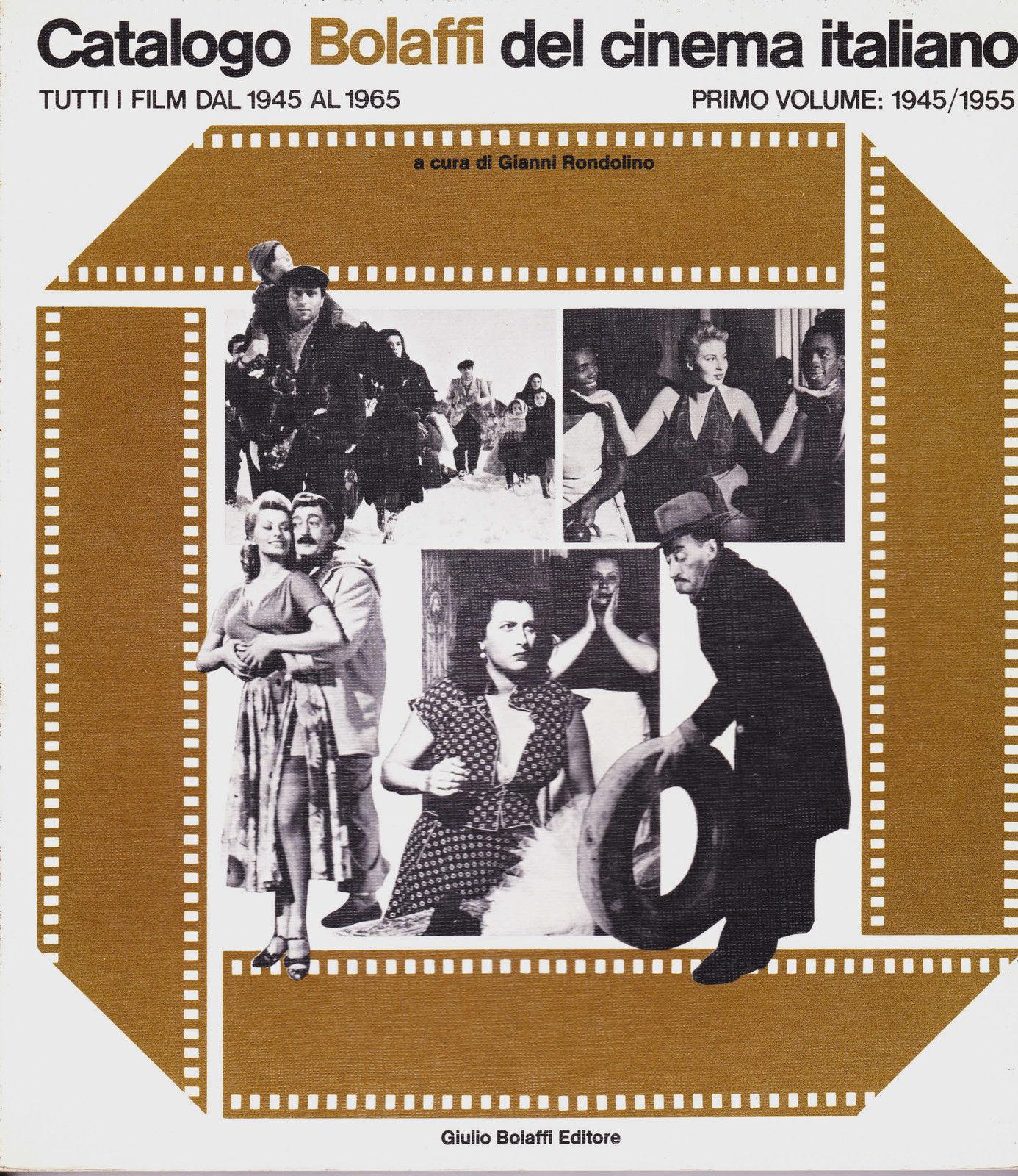 Catalogo Bolaffi del cinema italiano, 1945-1965 - Vol. 1