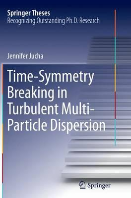 Time-symmetry Breaking in Turbulent Multi-particle Dispersion
