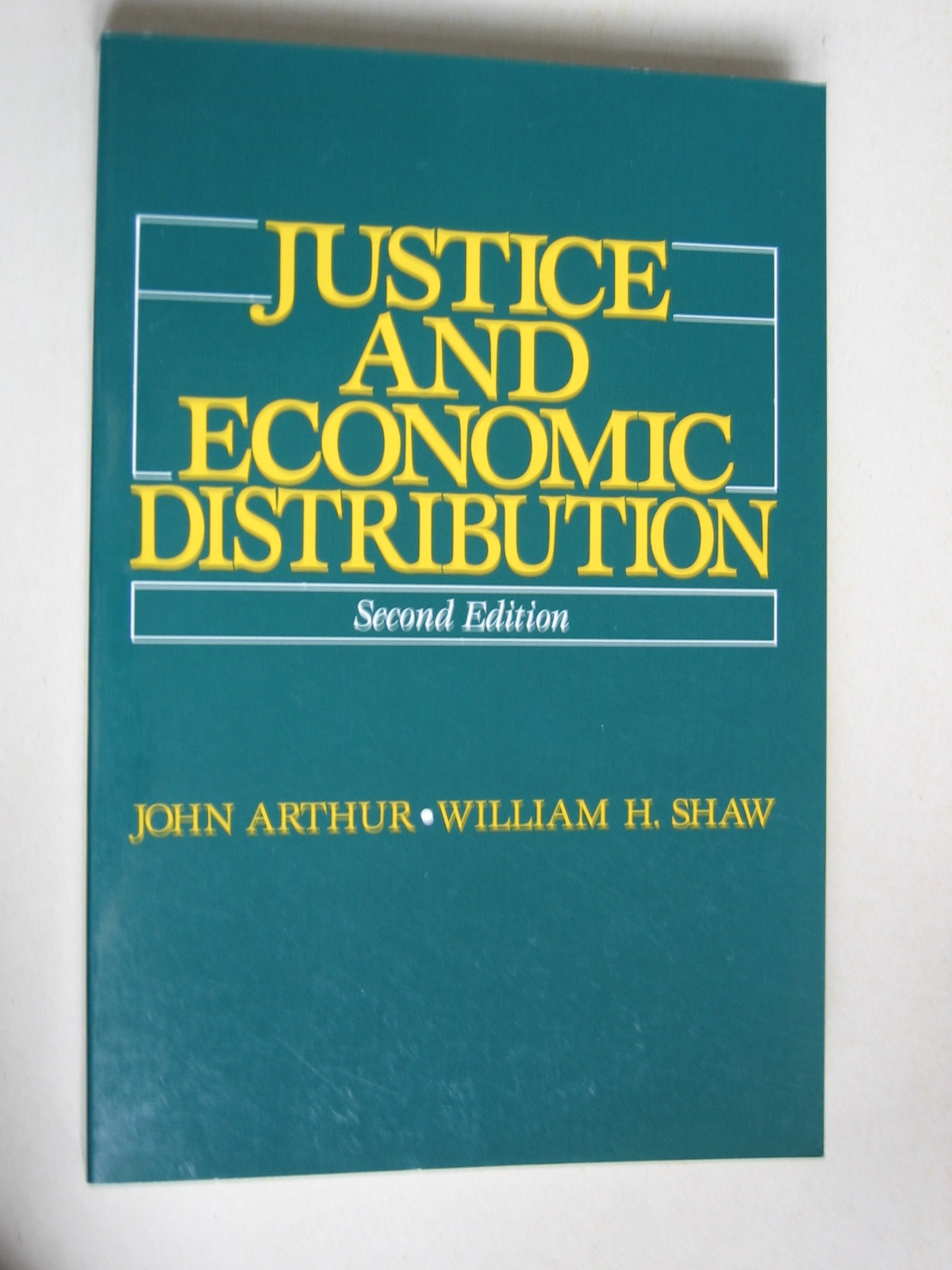 Justice and Economic...