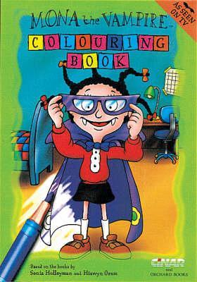 Mona The Vampire Colouring Book