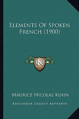 Elements of Spoken French (1900)