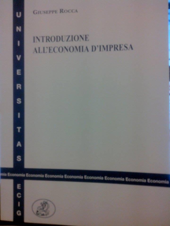Introduzione all'Economia d'Impresa