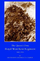 Queen OS Own Royal West Kent Regiment, 1881- 1914