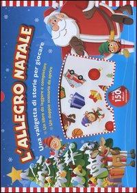 L'allegro Natale. Con adesivi