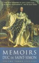 Memoirs Duc De Saint-Simon Volume Three