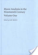 Music Analysis in the Nineteenth Century: Fugue, form, and style