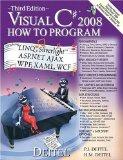 Visual C# 2008 How to Program