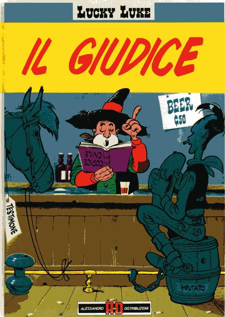 Lucky Luke - Il giudice
