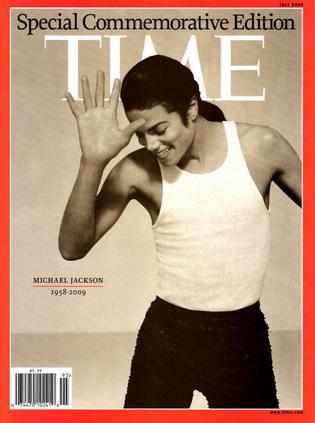 TIME Special commemorative edition Michael Jackson