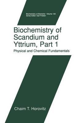Biochemistry of Scandium and Yttrium