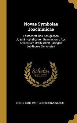 Novae Symbolae Joachimicae