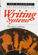 Blackwell Encyclopedia of Writing Systems
