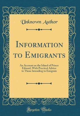 Information to Emigrants