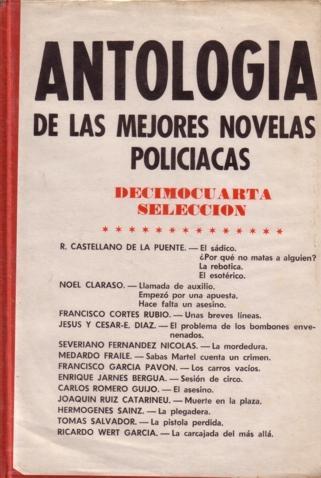 Antología de las mejores novelas policiacas - XIV