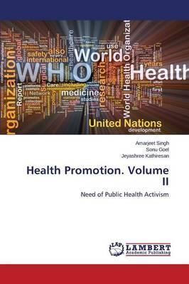 Health Promotion. Volume II