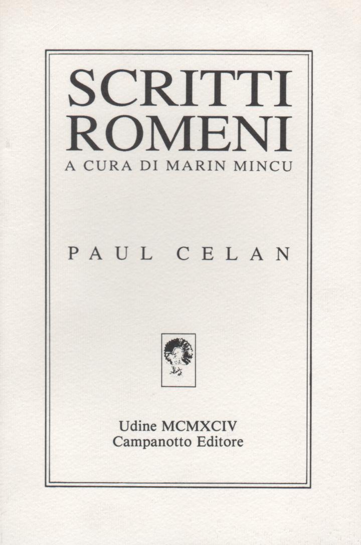 Scritti romeni