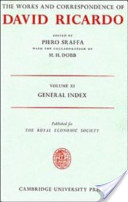 The Works and Correspondence of David Ricardo: General index