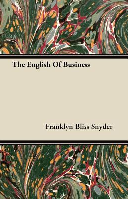 The English Of Business
