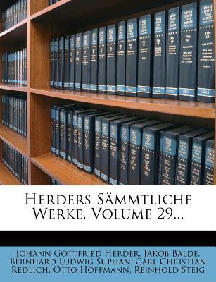 Herders Sammtliche Werke.