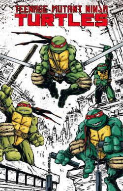 Teenage Mutant Ninja Turtles n. 1 - Cover Variant metallizzata