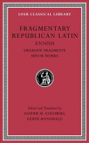 Fragmentary Republican Latin II