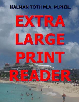 Extra Large Print Reader