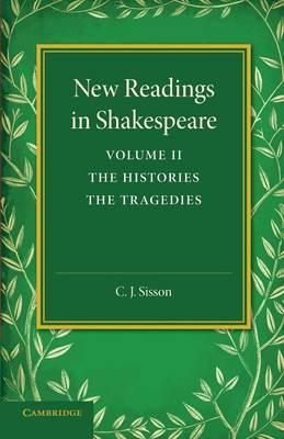 New Readings in Shakespeare