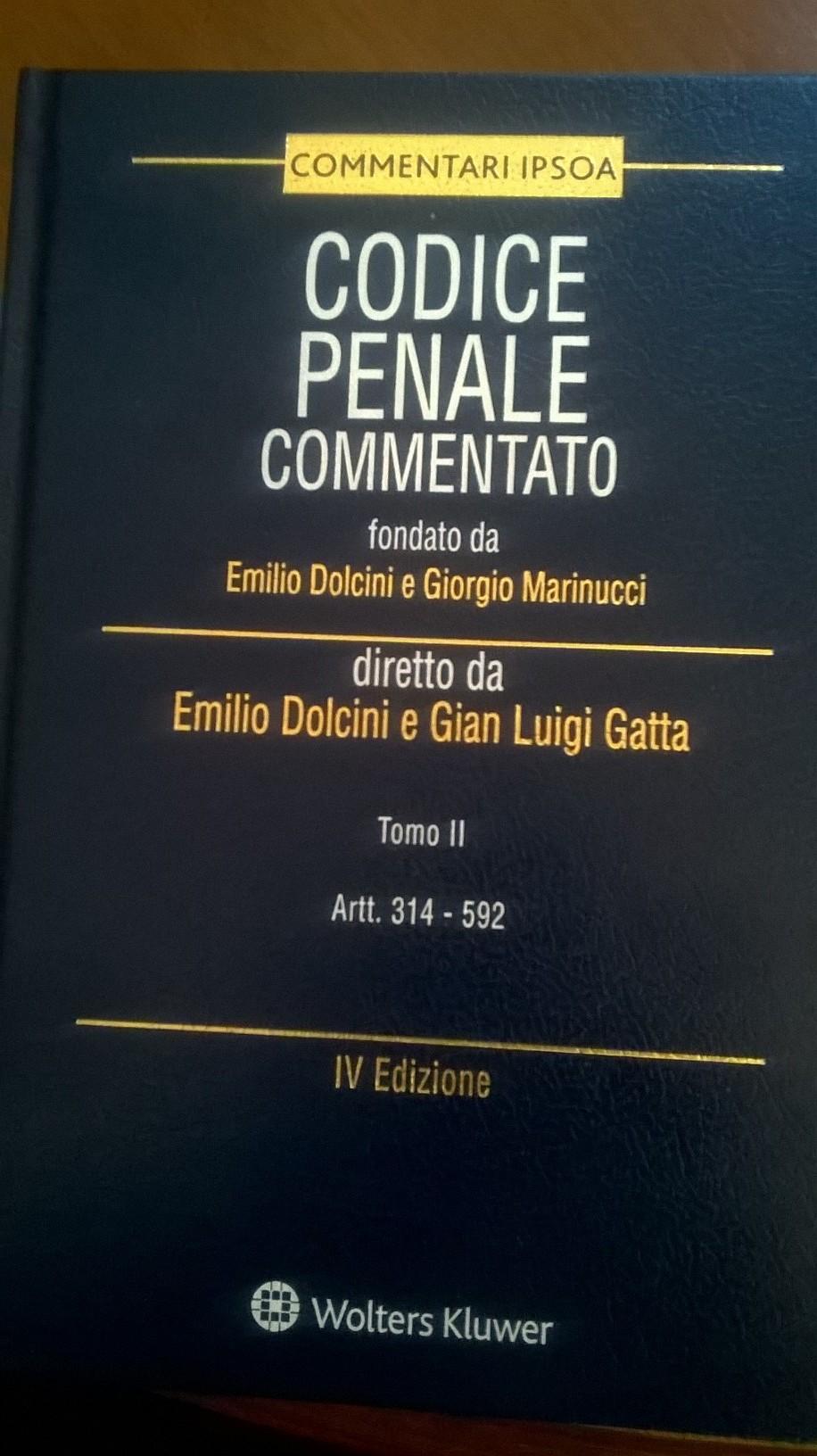 Codice penale commentato - Tomo II