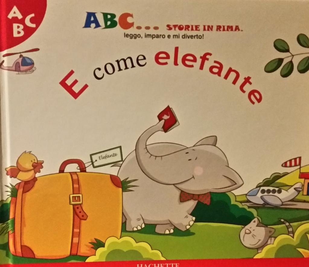 E come elefante