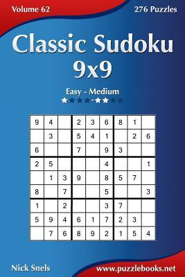 Classic Sudoku 9x9, Easy to Medium