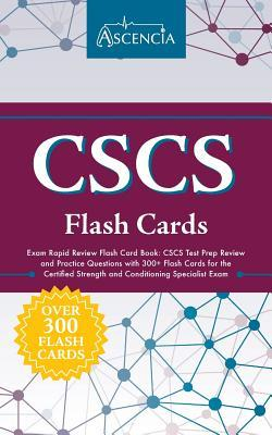 CSCS Exam Rapid Review Flash Card Book