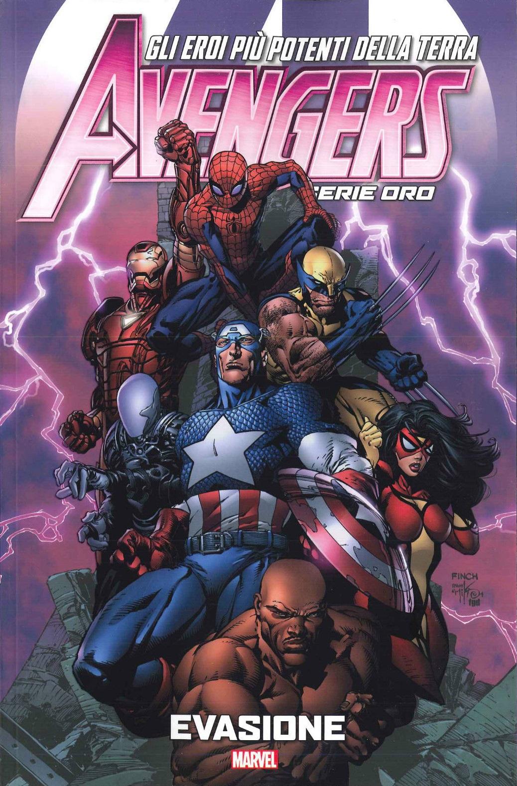Avengers - Serie Oro vol. 7