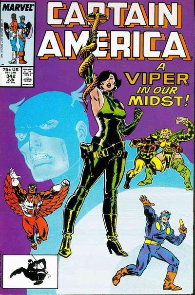 Captain America Vol.1 #342