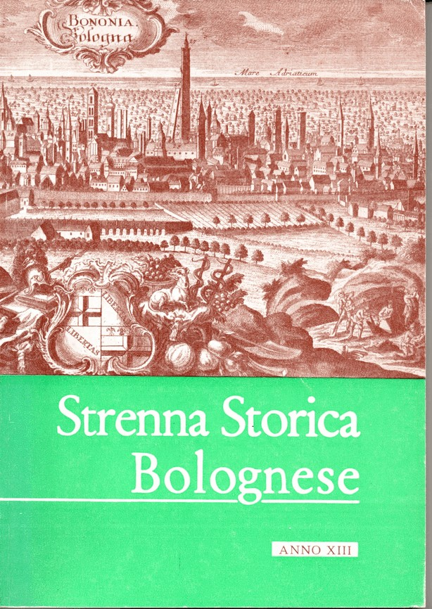 Strenna Storica Bolognese, Anno XIII (1963)
