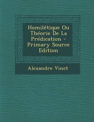 Homiletique Ou Theor...
