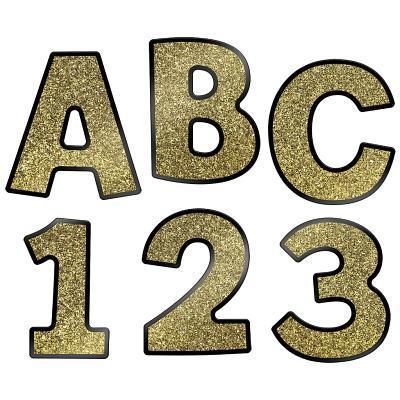 Sparkle & Shine Gold Glitter Combo Pack Ez Letters