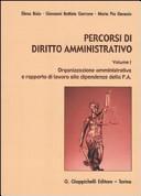 Percorsi di diritto amministrativo