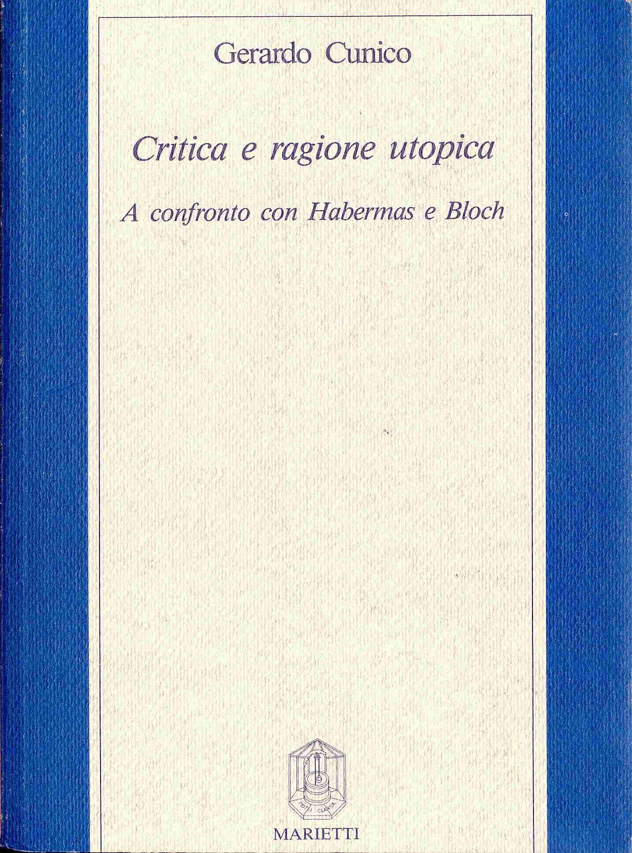 Critica e ragione utopica